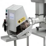 Portioning machine for mincer PN