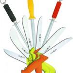 Разделочные ножи, мусаты, крюки для туш
